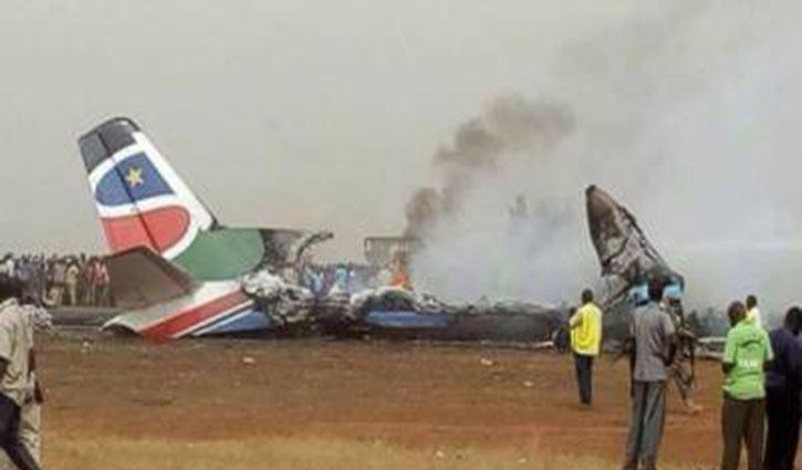 17 people killed in South Sudan plane crash