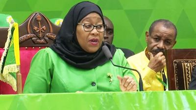 President Samia elected CCM new party chairperson - The Citizen